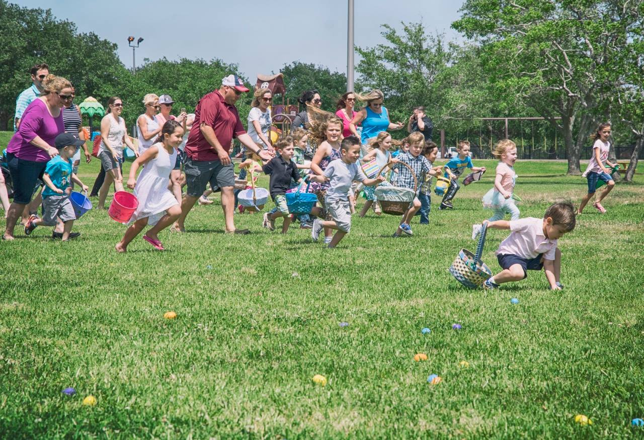 Easter in the Park Kids Running