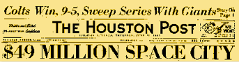 Houston Post from June 21, 1962