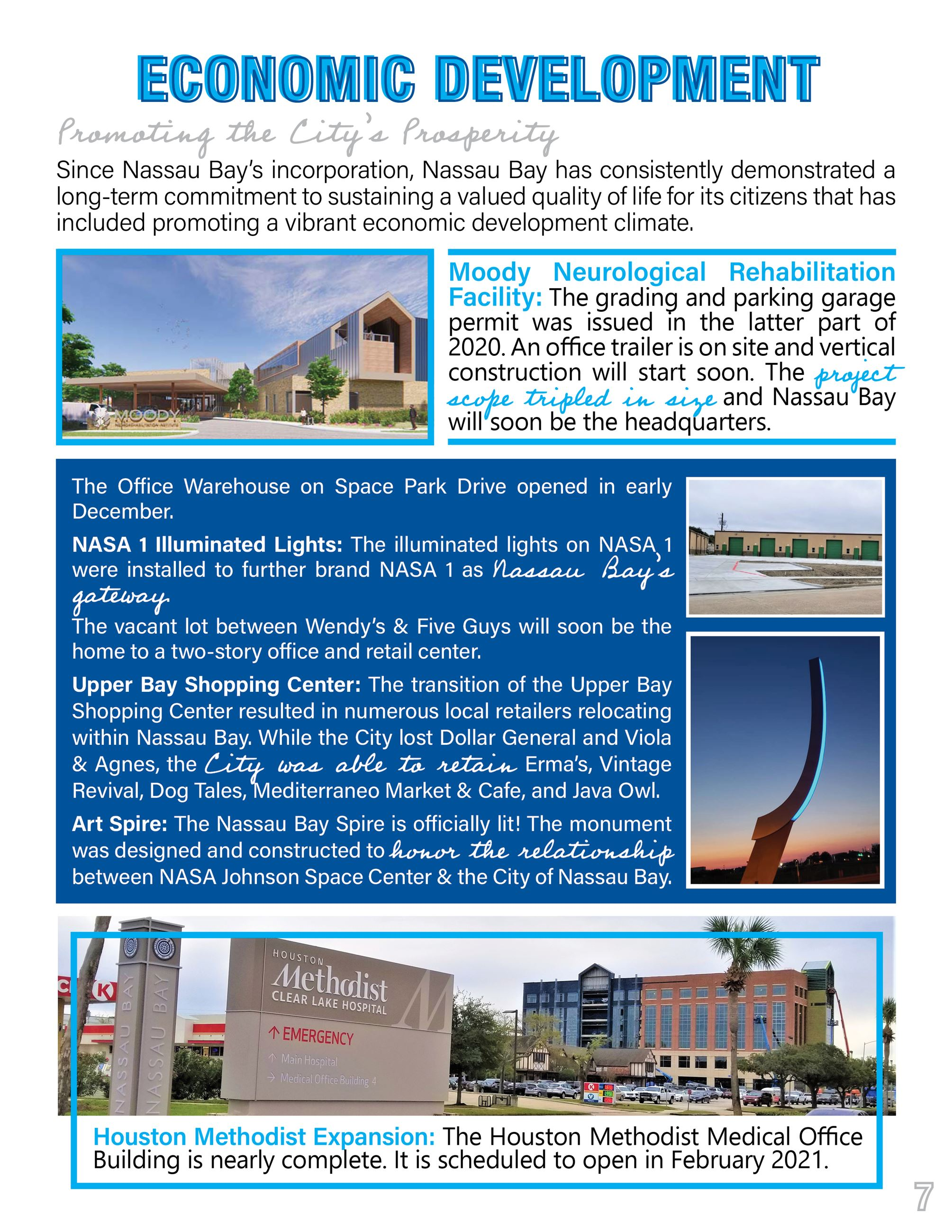 2020 Nassau Bay Year in Review Page 7