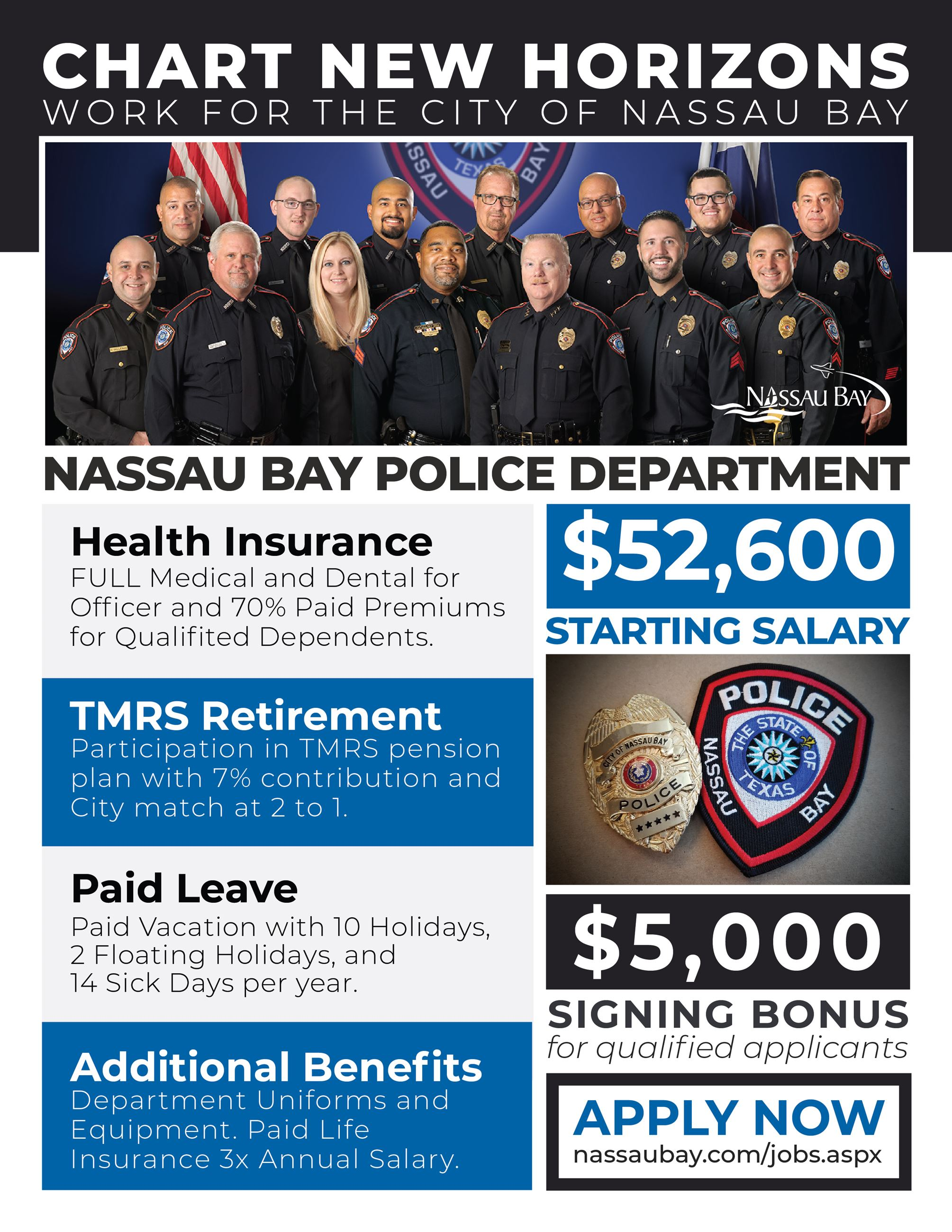 NBPD Recruitment Flyer Opens in new window